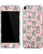 Pink Cactus Apple iPod Skin