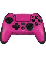 Pink Carbon Fiber PlayStation Scuf Vantage 2 Controller Skin