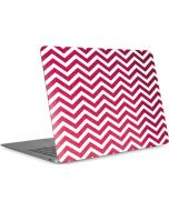 Pink Chevron Apple MacBook Air Skin