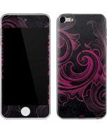 Pink Flourish Apple iPod Skin