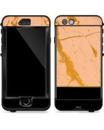 Pink Gold and Black Marble LifeProof Nuud iPhone Skin