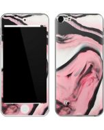 Pink Marble Ink Apple iPod Skin