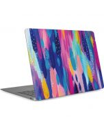 Pink Sparkle Brush Stroke Apple MacBook Air Skin