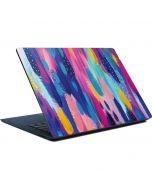 Pink Sparkle Brush Stroke Surface Laptop Skin
