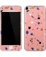 Pink Terrazzo Apple iPod Skin