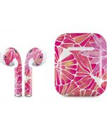 Pink Water Lilies Apple AirPods Skin
