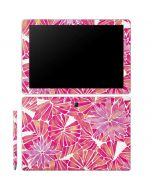 Pink Water Lilies Galaxy Book 12in Skin