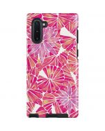 Pink Water Lilies Galaxy Note 10 Pro Case