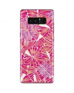 Pink Water Lilies Galaxy Note 8 Skin