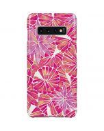 Pink Water Lilies Galaxy S10 Plus Lite Case