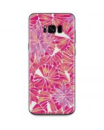 Pink Water Lilies Galaxy S8 Plus Skin