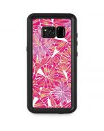 Pink Water Lilies Galaxy S8 Plus Waterproof Case