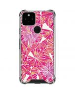 Pink Water Lilies Google Pixel 5 Clear Case