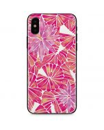 Pink Water Lilies iPhone X Skin