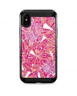 Pink Water Lilies iPhone XS Max Cargo Case