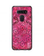 Pink Zen LG K51/Q51 Clear Case