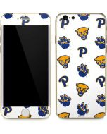 Pittsburgh Panthers Paw Prints iPhone 6/6s Skin