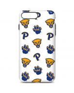 Pittsburgh Panthers Paw Prints iPhone 7 Plus Pro Case