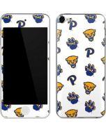 Pittsburgh Panthers Paw Prints Apple iPod Skin