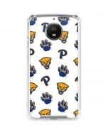 Pittsburgh Panthers Paw Prints Moto G5S Plus Clear Case