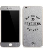 Pittsburgh Penguins Black Text iPhone 6/6s Plus Skin