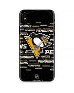Pittsburgh Penguins Blast iPhone X Skin