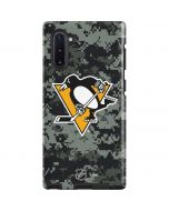 Pittsburgh Penguins Camo Galaxy Note 10 Pro Case
