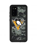 Pittsburgh Penguins Camo Galaxy S20 Waterproof Case