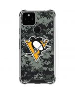 Pittsburgh Penguins Camo Google Pixel 5 Clear Case