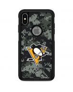 Pittsburgh Penguins Camo Otterbox Commuter iPhone Skin