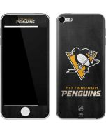 Pittsburgh Penguins Distressed Apple iPod Skin
