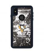 Pittsburgh Penguins Frozen iPhone X Waterproof Case