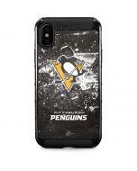 Pittsburgh Penguins Frozen iPhone XS Max Cargo Case