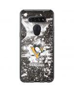 Pittsburgh Penguins Frozen LG K51/Q51 Clear Case