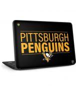 Pittsburgh Penguins Lineup HP Chromebook Skin