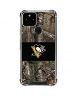 Pittsburgh Penguins Realtree Xtra Camo Google Pixel 5 Clear Case