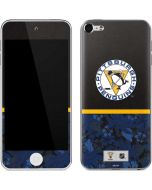 Pittsburgh Penguins Retro Tropical Print Apple iPod Skin