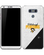 Pittsburgh Penguins Script LG G6 Skin