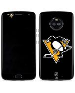 Pittsburgh Penguins Solid Background Moto X4 Skin