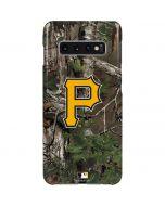 Pittsburgh Pirates Realtree Xtra Green Camo Galaxy S10 Plus Lite Case