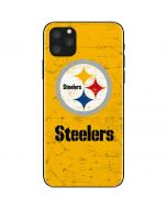 Pittsburgh Steelers - Alternate Distressed iPhone 11 Pro Max Skin