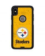Pittsburgh Steelers - Alternate Distressed Otterbox Commuter iPhone Skin