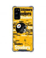 Pittsburgh Steelers - Blast Galaxy S20 FE Clear Case