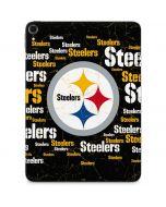 Pittsburgh Steelers Black Blast Apple iPad Pro Skin