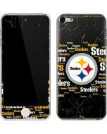 Pittsburgh Steelers Black Blast Apple iPod Skin
