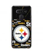 Pittsburgh Steelers Black Blast LG K51/Q51 Clear Case
