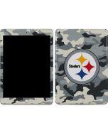 Pittsburgh Steelers Camo Apple iPad Skin