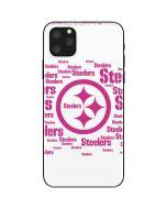 Pittsburgh Steelers Pink Blast iPhone 11 Pro Max Skin