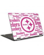 Pittsburgh Steelers Pink Blast Dell XPS Skin