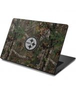 Pittsburgh Steelers Realtree Xtra Green Camo Dell Chromebook Skin